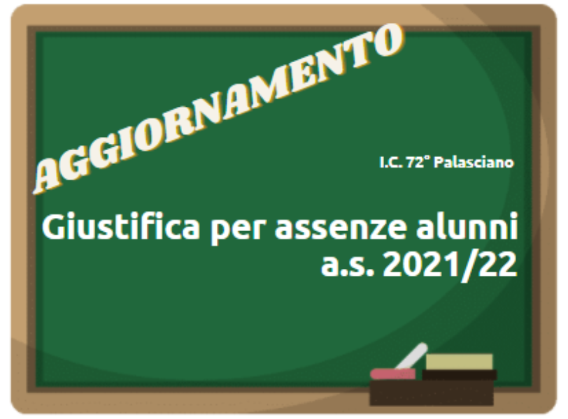 Giustifica per assenze alunni - a.s. 2021/2022