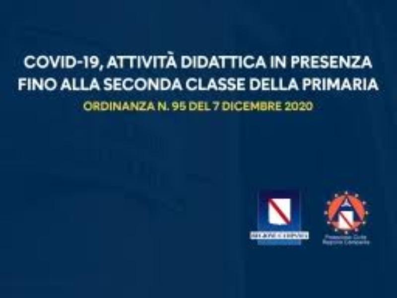 RIPRESA ATTIVITÀ DIDATTICA IN PRESENZA FINO AL...