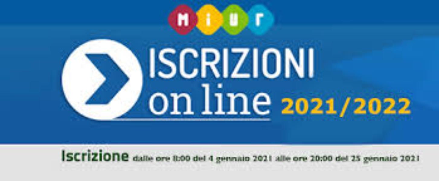ISCRIZIONI - ANNO SCOLASTICO 2021/2022